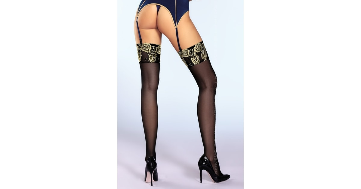 SARONES.cz - Punčochy LivCo Corsetti Scarlett - LivCo CORSETTI FASHION -  erotické punčochy - Erotické prádlo 2f938d178f