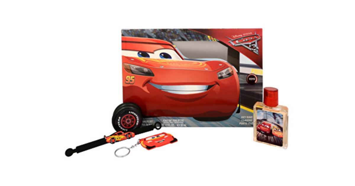 SARONES.cz - Dárková sada Cars 3 - EDT 50 ml + 2 silikonové náramky +  klíčenka + jojo - EP Line - Dětské parfémy - Dětská kosmetika 78d435ebb9