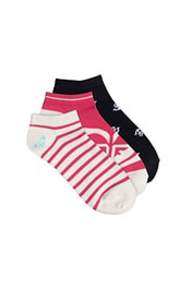 Set ponožek ROXY Ankle Socks Rouge Red ERJAA03343-MLJ0