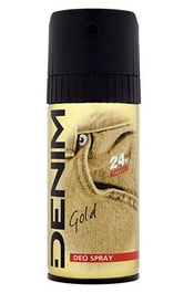 DENIM Gold - deodorant ve spreji