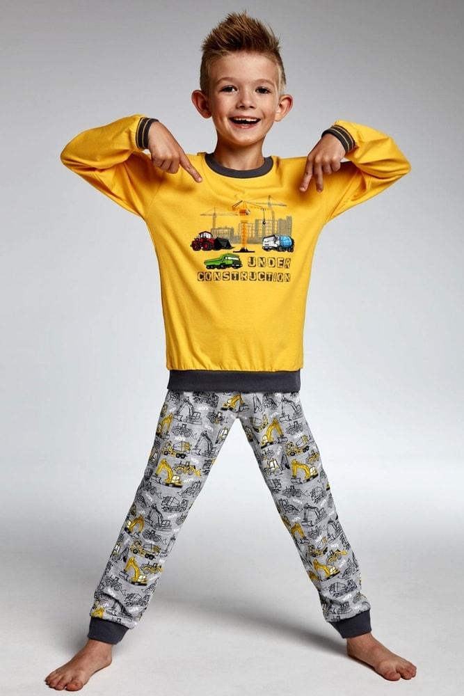 5a2af4f9592 SARONES.cz - Chlapecké pyžamo 593 73 Construction - Cornette - Chlapecká  pyžama - Dětská pyžama