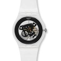 Dámské hodinky SWATCH Black Ghost SUOK107