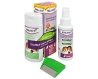 Paranit sprej 60 ml + 40 ml ZDARMA + šampon 100 ml ZDARMA + hřeben ZDARMA