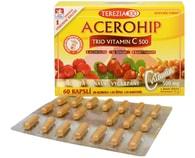 Acerohip Trio vitamín C 500 mg 60 kapslí