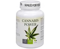 Cannabis Power konopné kapsle - 120 kapslí