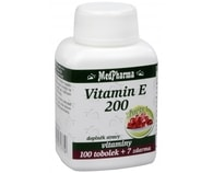 Vitamín E 200 Forte 100 tob. + 7 tob. ZDARMA