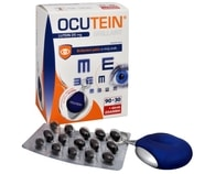 Ocutein Brillant Lutein 25 mg 90 tob. + 30 tob. ZDARMA + ubrousek na brýle ZDARMA