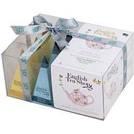 Dárková kolekce English Tea Shop 12 pyramidek Bílý čaj 4 příchutě