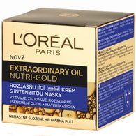 Rozjasňující noční krém s intenzitou masky Nutri Gold (Extraordinary Oil Face) 50 ml