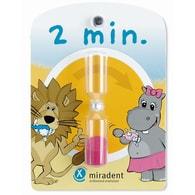 Přesýpací hodiny pro měření doby čištění zubů pro děti Miradent Sanduhr