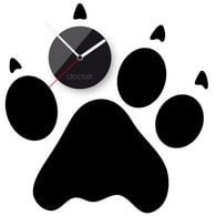 Nástěnné hodiny Clocker Footprint