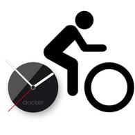 Nástěnné hodiny Clocker Bike