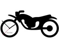 Nástěnné hodiny Clocker Motorbike