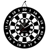 Nástěnné hodiny Clocker Bullseye