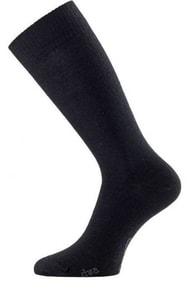 Černé vlněné ponožky Lasting DWA černé