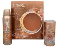 C-THRU Pure Illusion - toaletní voda s rozprašovačem 30 ml + deodorant ve spreji 150 ml