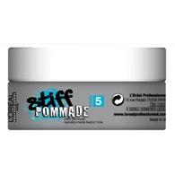 Vosk na vlasy pro přirozený vzhled Stiff Pommade 75 ml