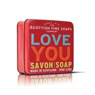 Mýdlo v plechu I love you 100 g