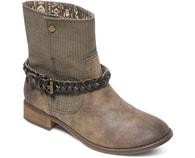 Kotníčkové boty Roxy Skye Boot Brown ARJB700225-BRN