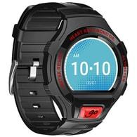 Unisex hodinky Alcatel ONETOUCH GO WATCH, Black/Dark Red