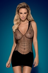 Obsessive Erotické šaty Obsessive D603 dress - S/M/L