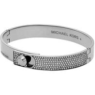 Ocelový pevný náramek s krystaly Michael Kors MKJ4903040