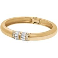Pevný zlatý náramek s krystaly Michael Kors MKJ4920710