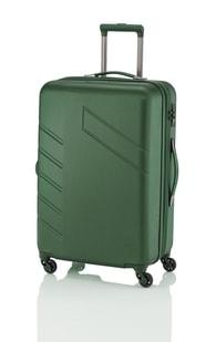 Cestovní kufr malý Travelite Tourer 4w M Green expandable