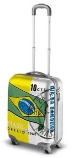 Cestovní kufr malý Ciak Roncato Ciak Style S Brasilian Flag