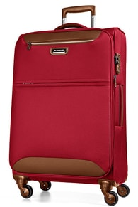 Cestovní kufr March Flybird M Red / Brown