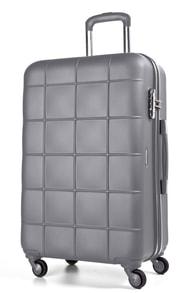 Cestovní kufr March Asteroid L Grey / mat rubber coating
