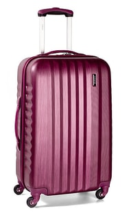 Cestovní kufr malý March Ribbon S Burgundi brushed