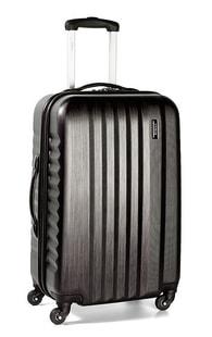 Cestovní kufr malý March Ribbon S Black brushed
