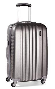 Cestovní kufr malý March Ribbon S Silver brushed