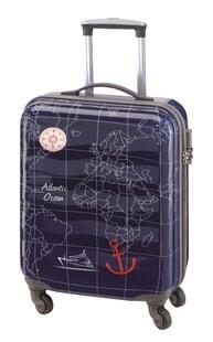 Palubní kufr Check.In Madeira S Seablue