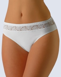 Dámské bavlněné kalhotky GINA bílé