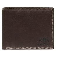 Pánská hnědá kožená peněženka Lagen Brown 614787
