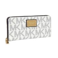 Elegantní peněženka Michael Kors Continental Smartphone Wristlet vanilla