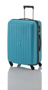 Cestovní kufr Travelite Uptown 4w L Petrol