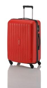 Cestovní kufr Travelite Uptown 4w M Red