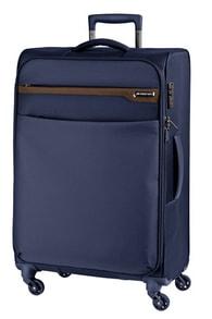 Cestovní kufr March Lite M Navy/Cognak