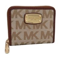 Elegantní peněženka MK Jet Set Item Wallet Beige Multi