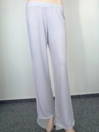 Pyžamové domácí kalhoty CHANGE Soft Jersey w. Lace šedé