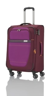 Cestovní kufr Travelite Meteor 4w M Berry