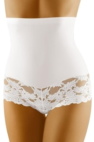 Stahovací kalhotky WOLBAR Preciosa bílé