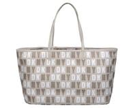 Elegantní béžová kabelka DKNY Top Zip Shopper