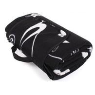 Designová deka na piknik s kočkami Albi