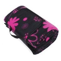 Designová deka na piknik s květy Albi
