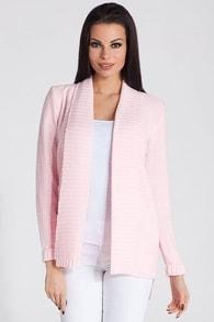 Dámský cardigan FOBYA 60542 růžový