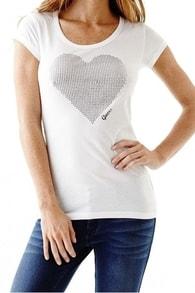 Dámské tričko Guess Karly Tee bílé